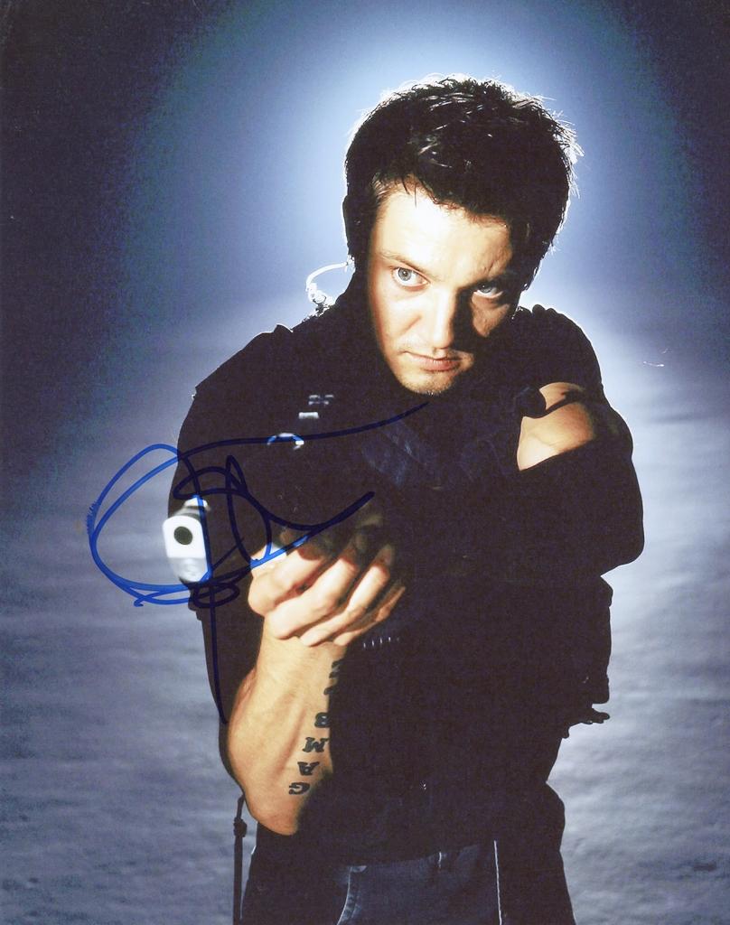 Jeremy Renner Signed Photo
