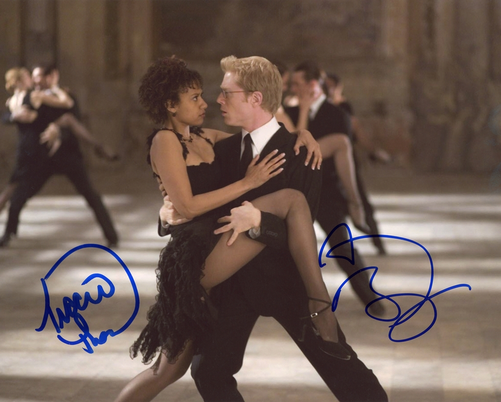 Anthony Rapp & Tracie Thoms Signed Photo