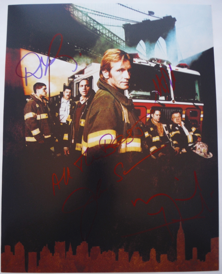 Rescue Me Signed Photo