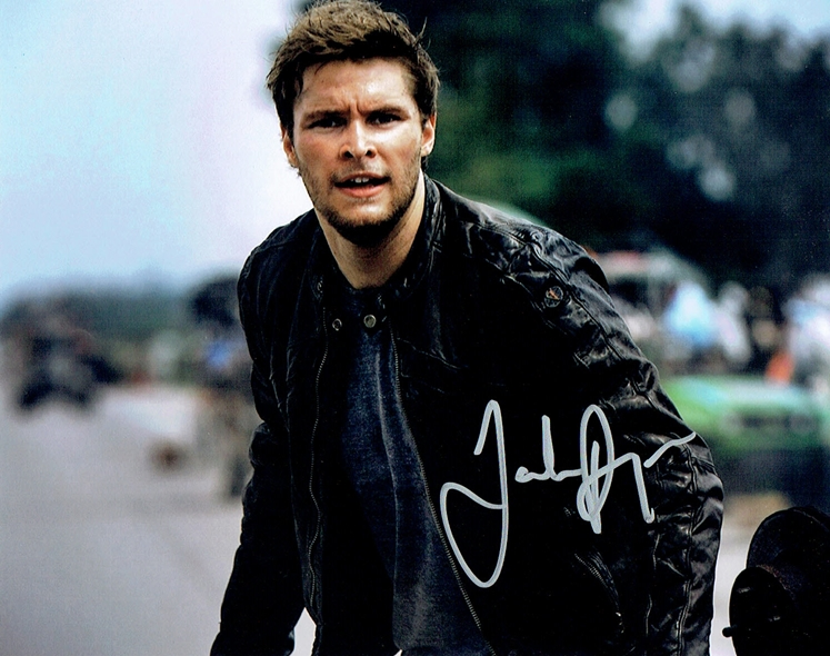 Jack Reynor Signed Photo