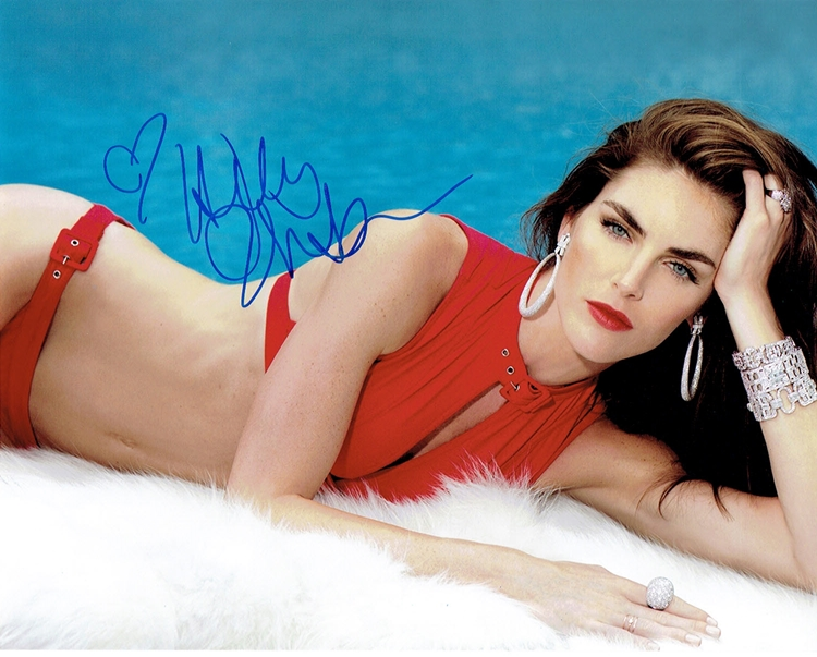 Hilary Rhoda Signed Photo