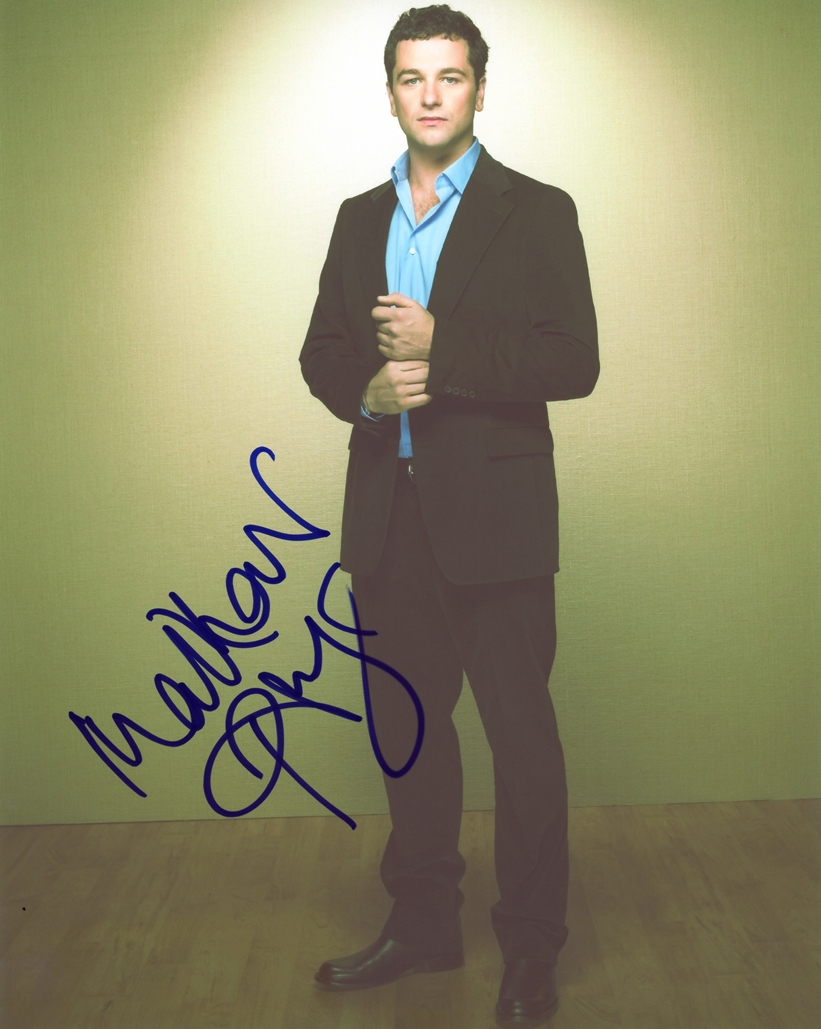 Matthew Rhys Signed Photo