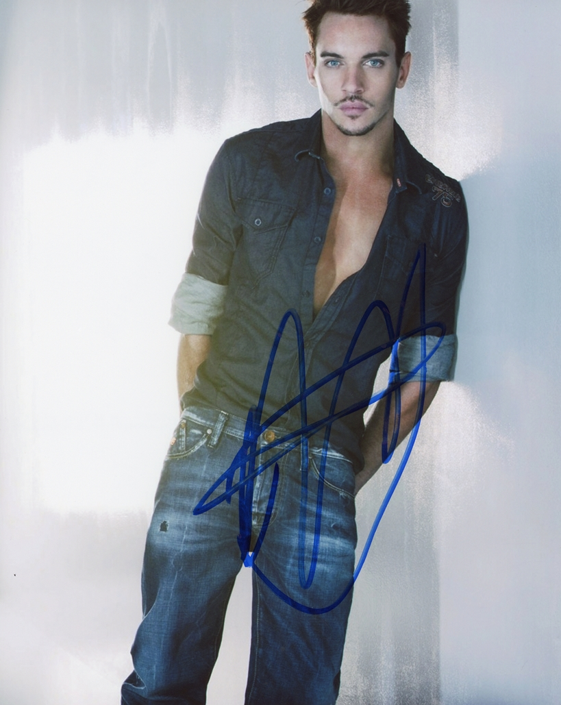 Jonathan Rhys-Meyers Signed Photo