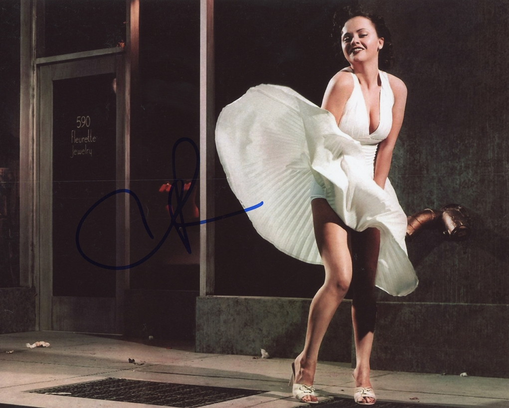 Christina Ricci Signed Photo