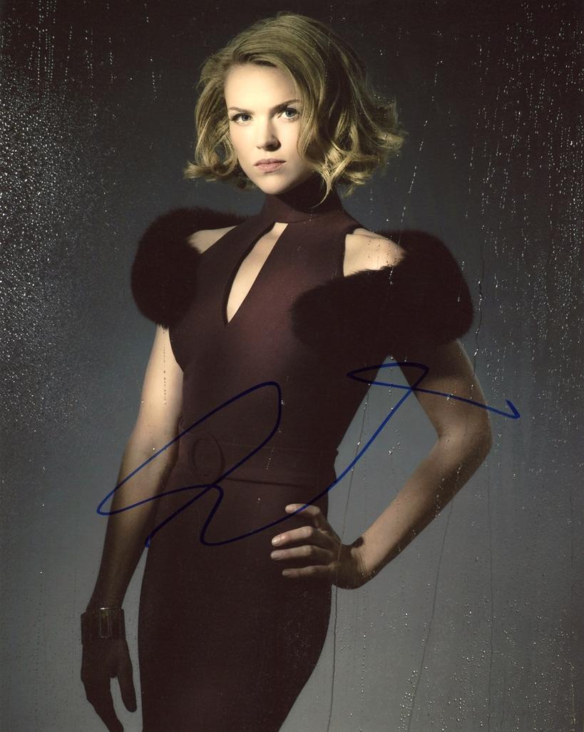 Erin Richards Signed Photo