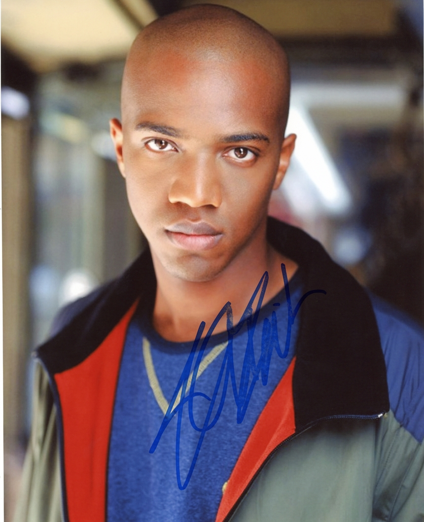 J. August Richards Signed Photo