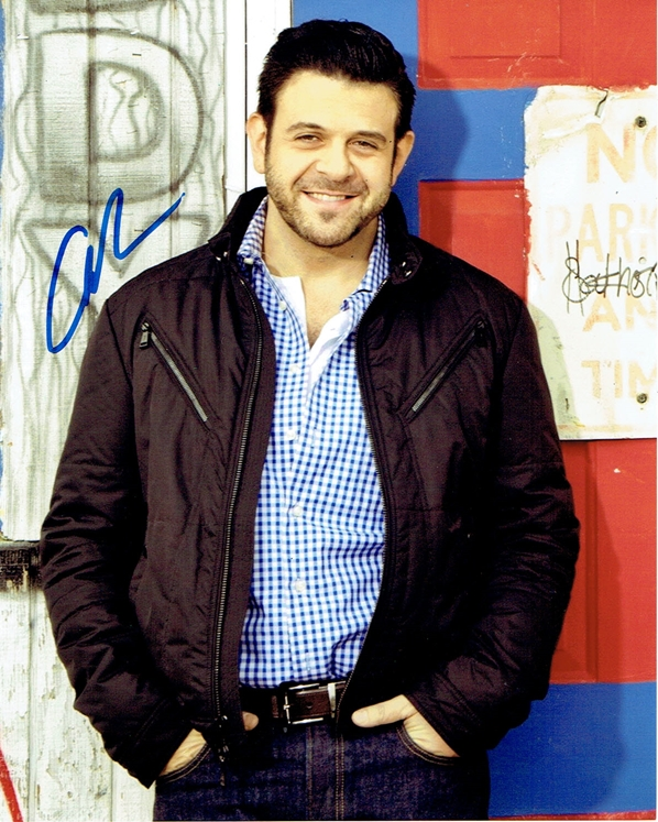 Adam Richman Signed Photo