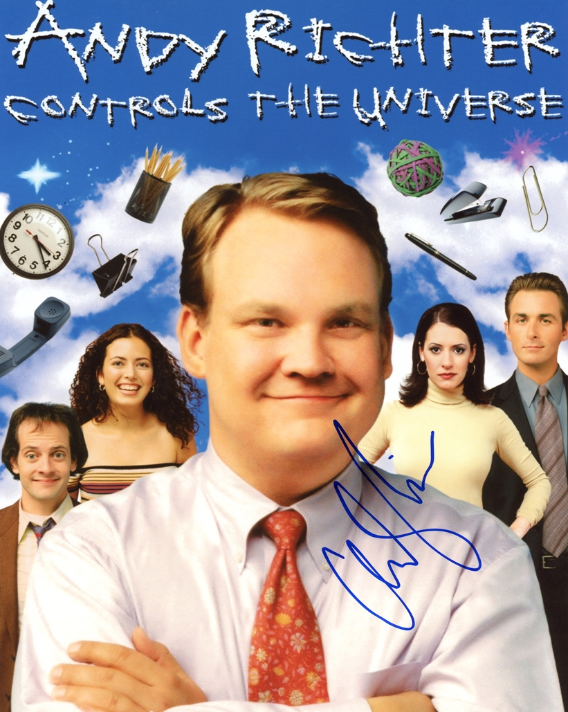 Andy Richter Signed Photo