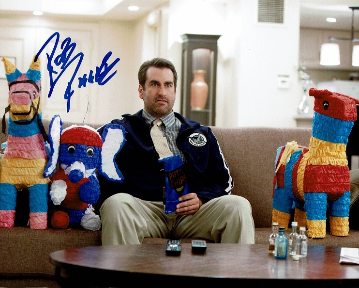 Rob Riggle Signed Photo