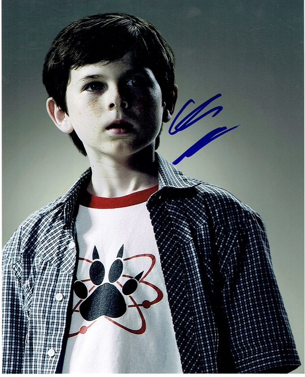 Chandler Riggs Signed Photo