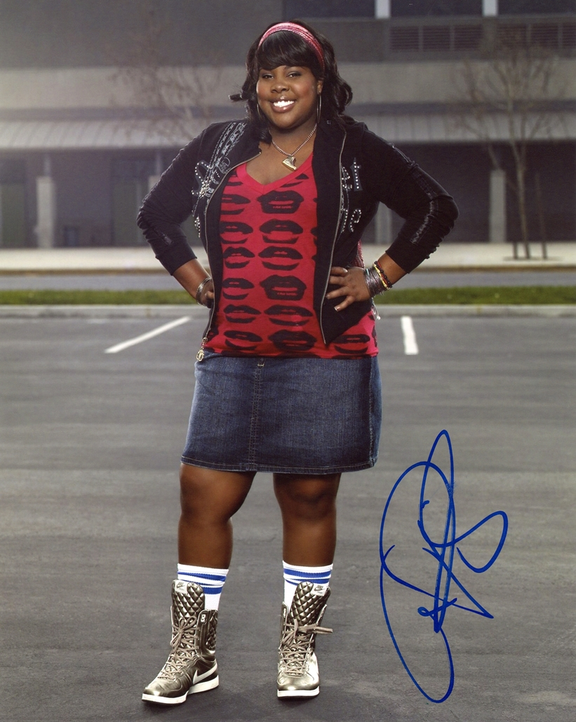 Amber Riley Signed Photo