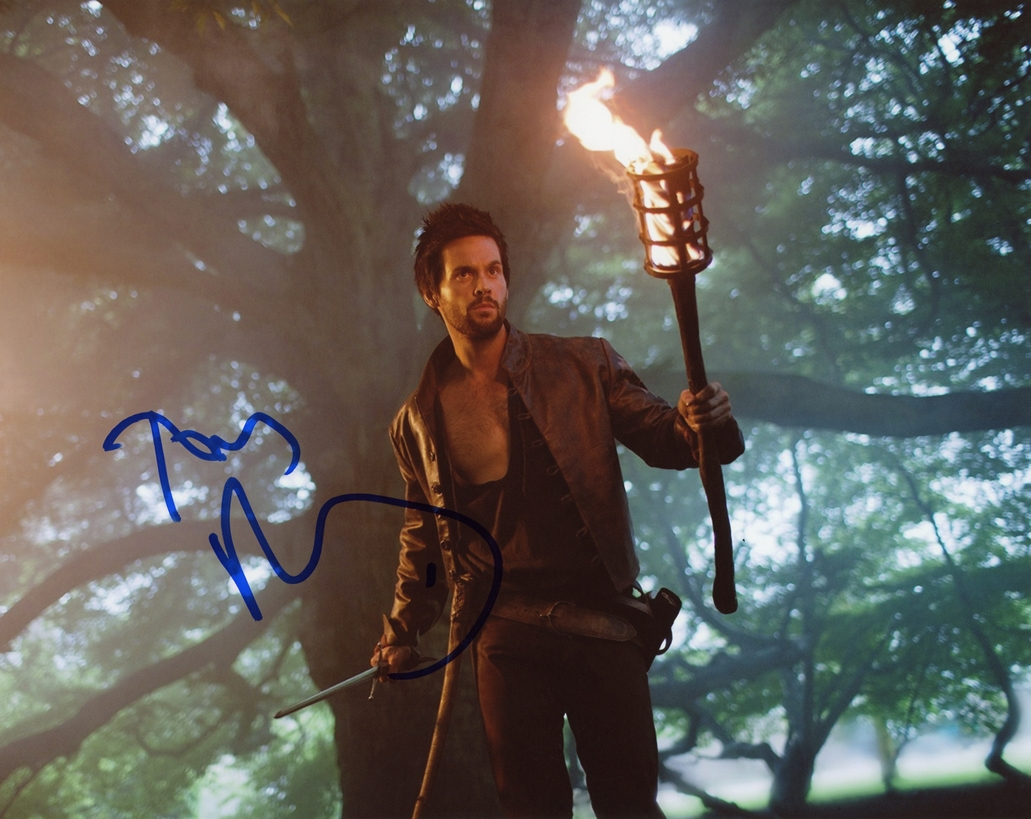 Tom Riley Signed Photo