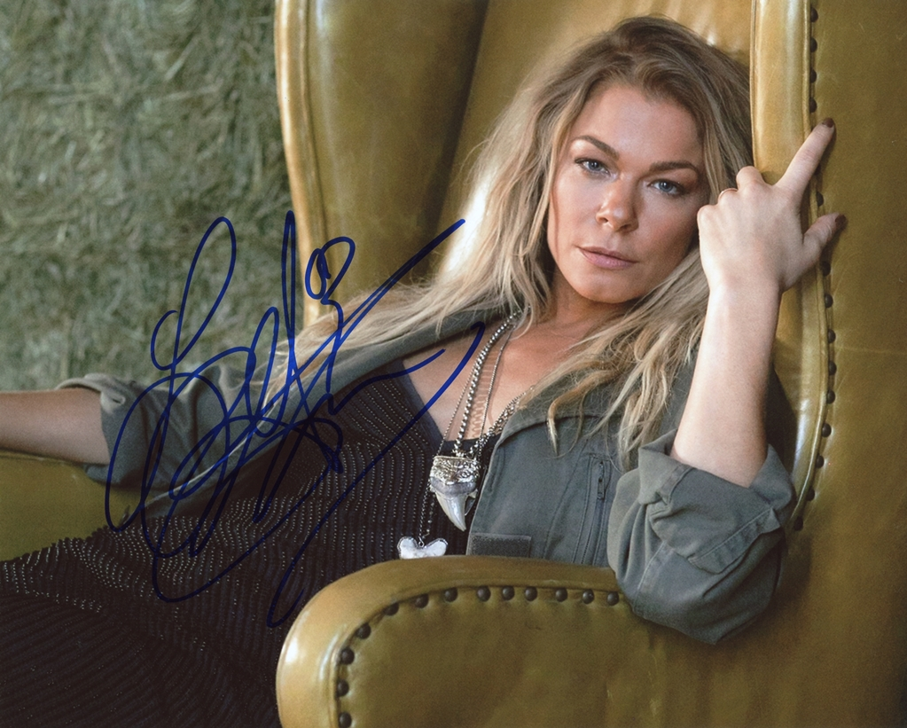 LeAnn Rimes Signed Photo