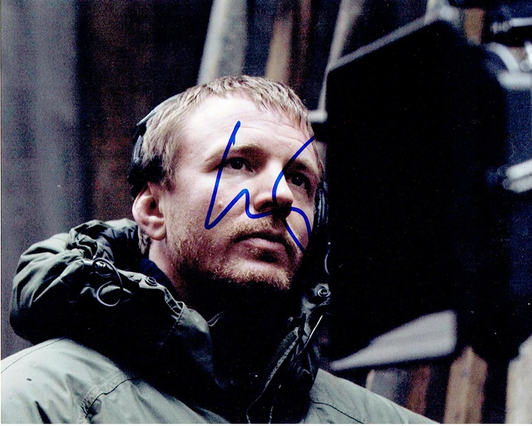Guy Ritchie Signed Photo