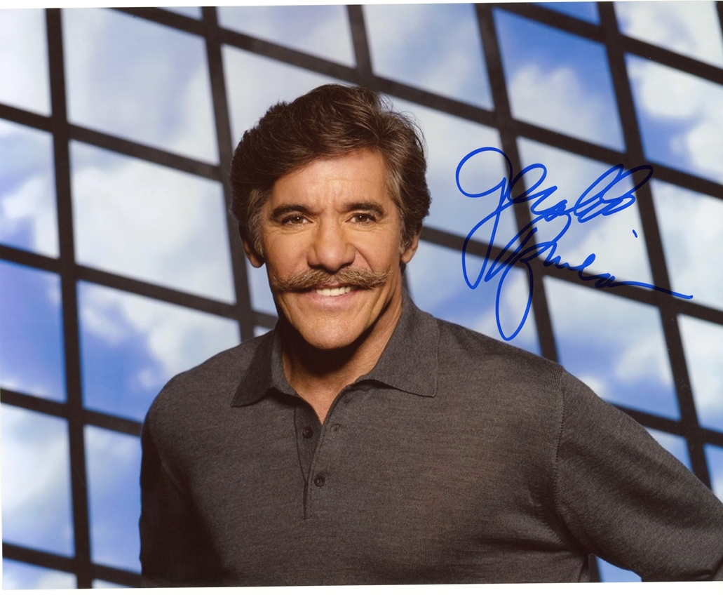 Geraldo Rivera Signed Photo