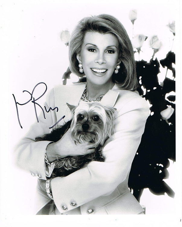 Joan Rivers Signed Photo