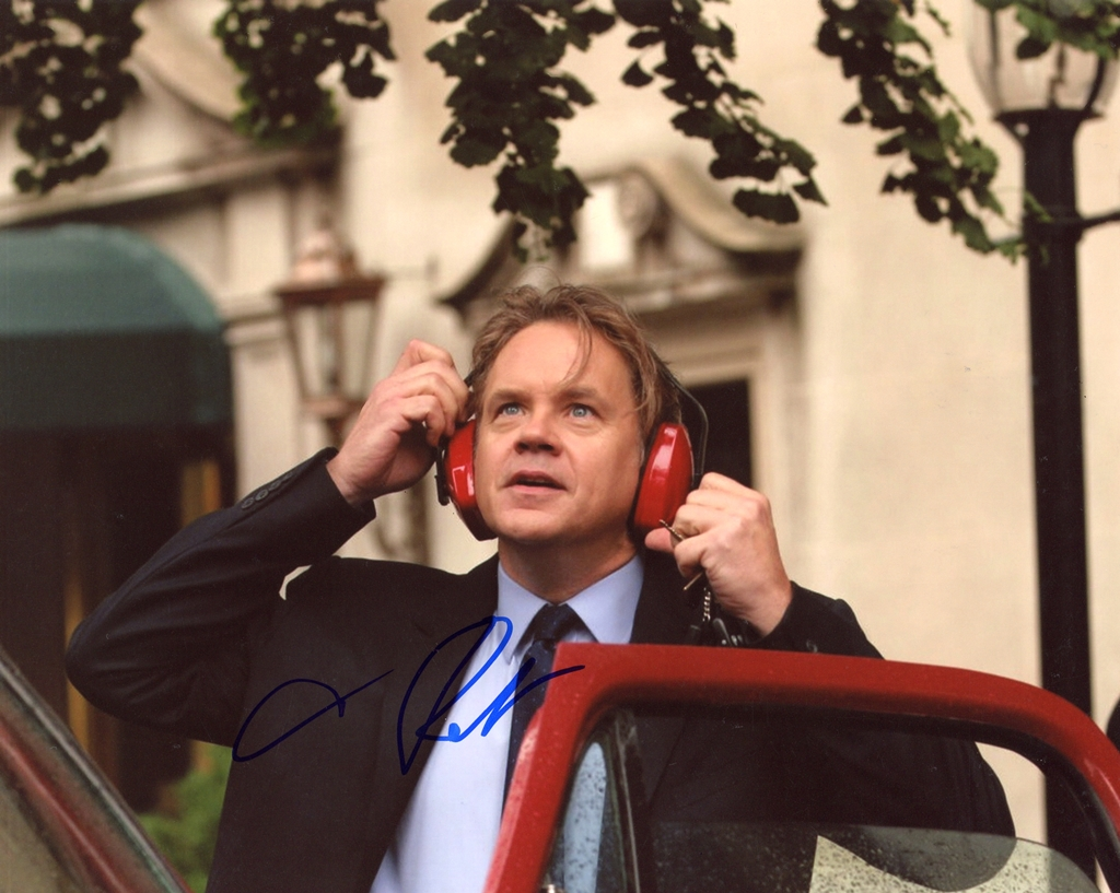 Tim Robbins Signed Photo