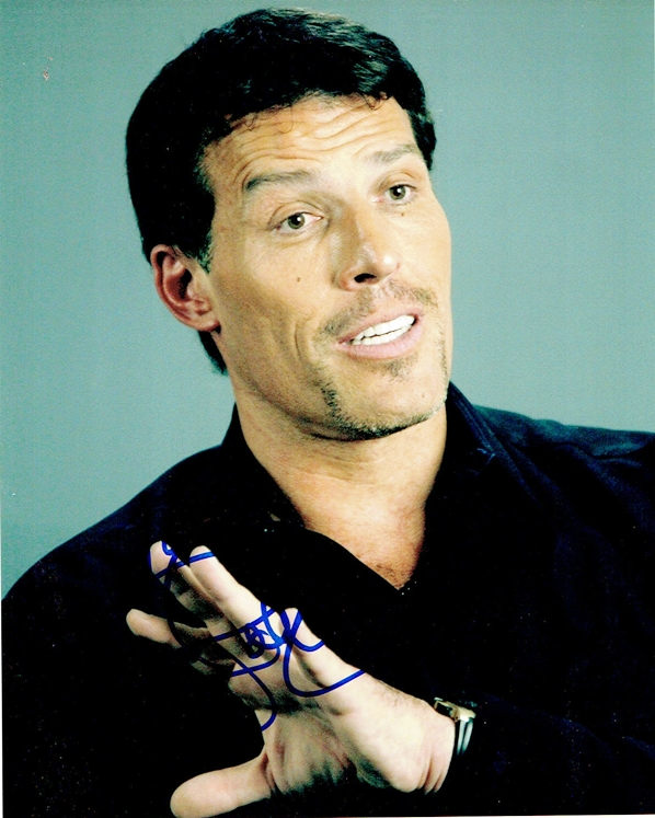Tony Robbins Signed Photo