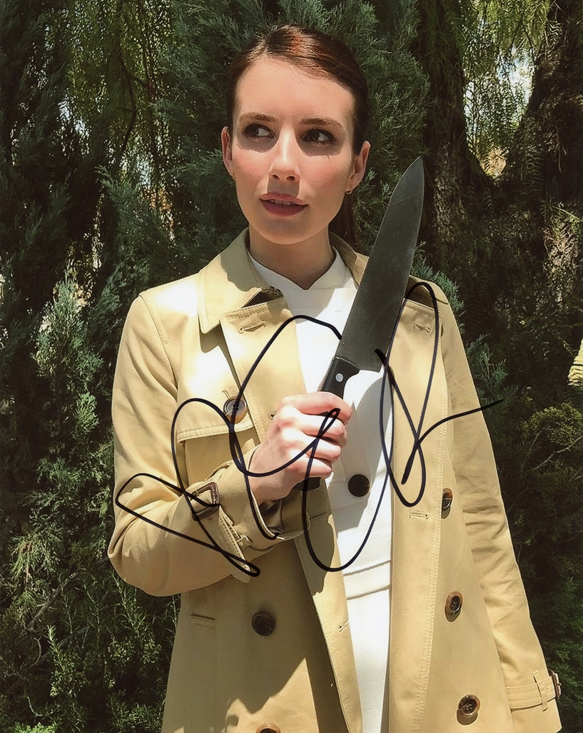 Emma Roberts Signed Photo