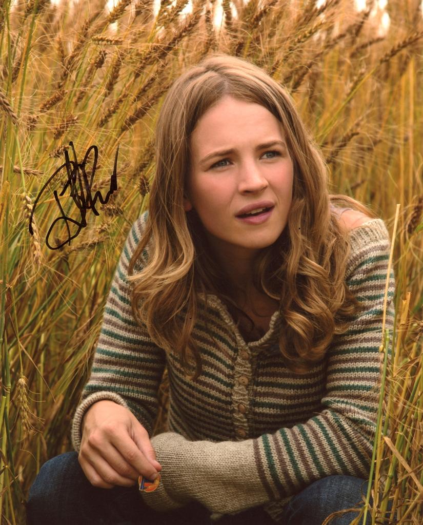Britt Robertson Signed Photo