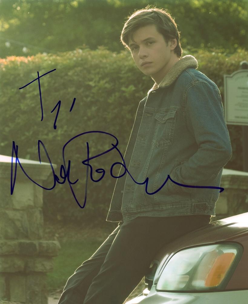 Nick Robinson Signed Photo
