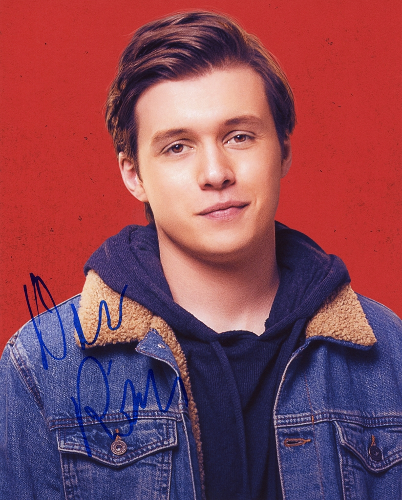 Nick Robinson Signed Photo
