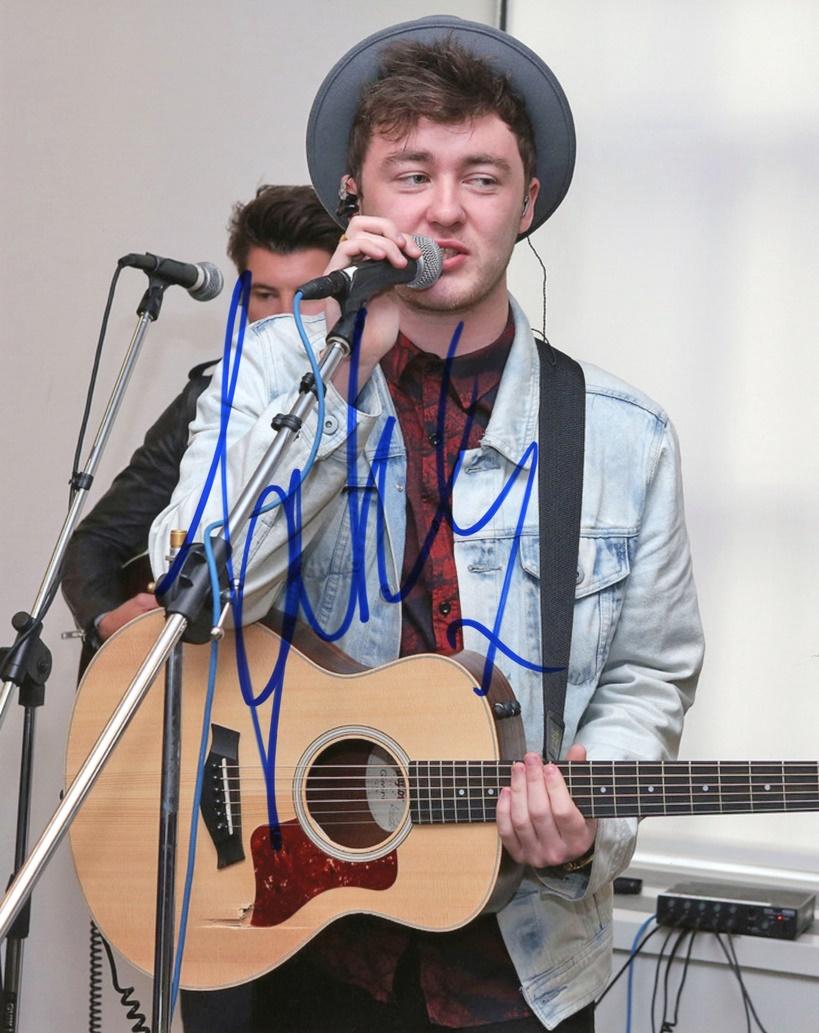 Jake Roche Signed Photo