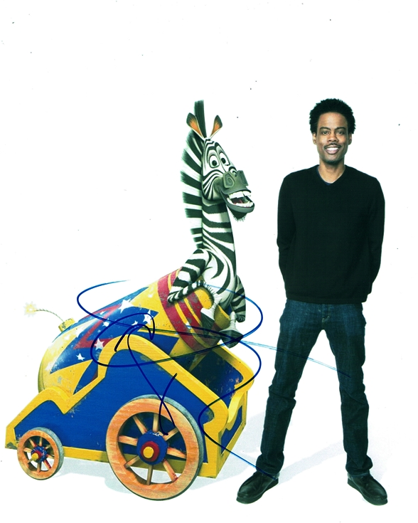 Chris Rock Signed Photo