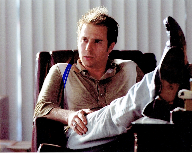 Sam Rockwell Signed Photo