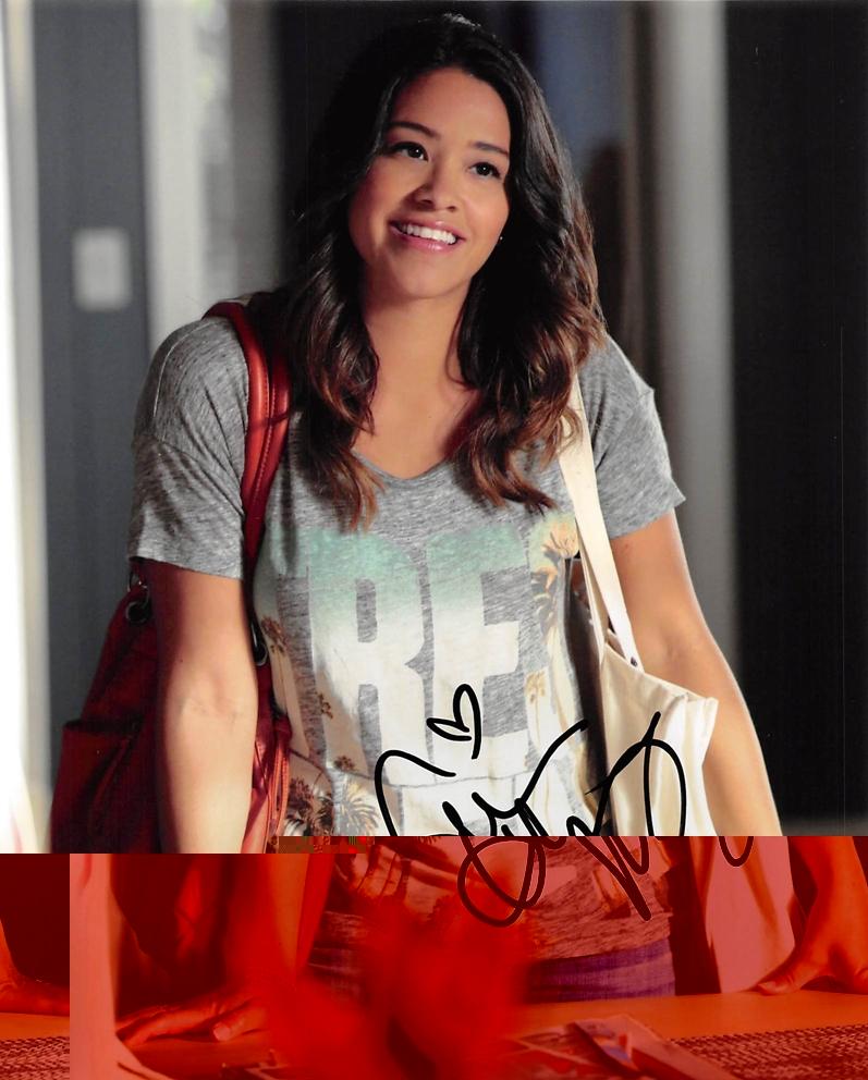 Gina Rodriguez Signed Photo