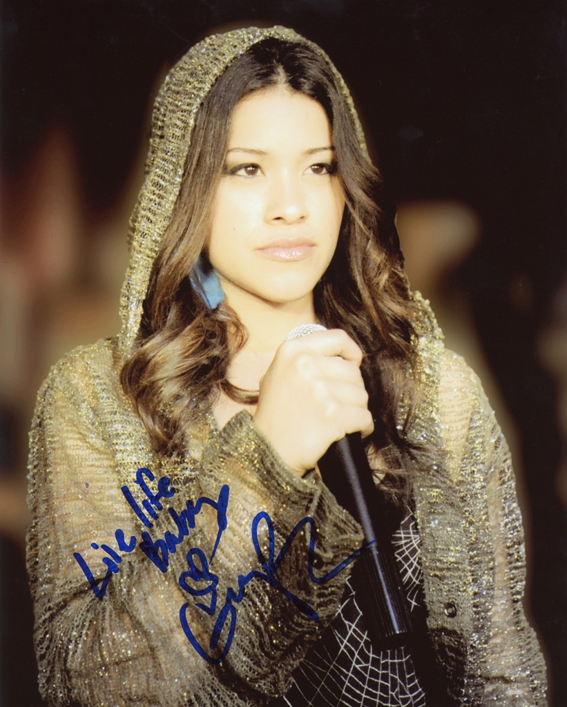 Gina Rodriguez Signed Photo