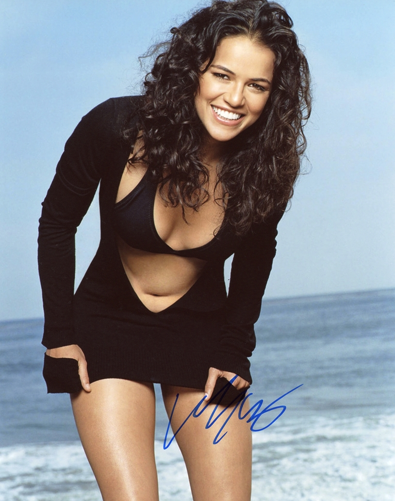 Michelle Rodriguez Signed Photo