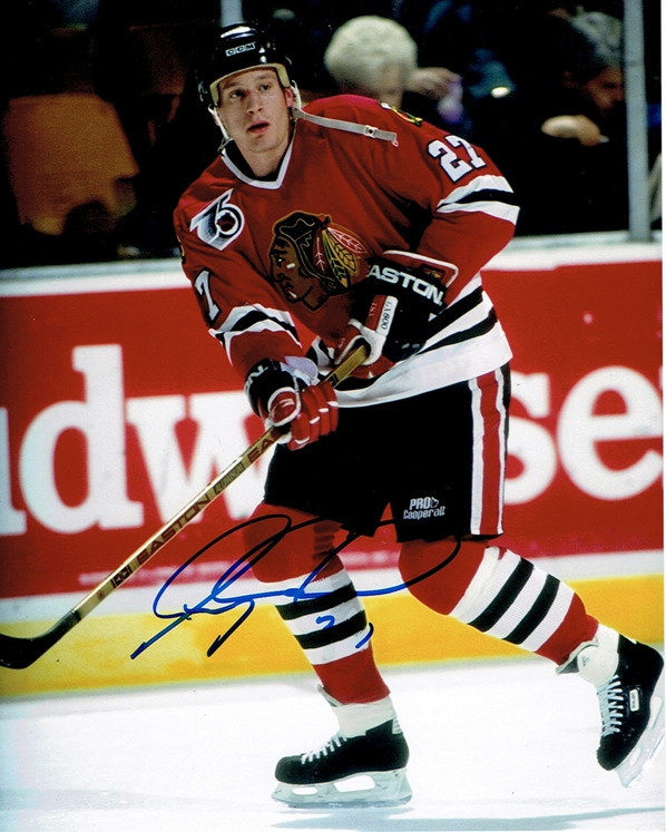 Jeremy Roenick Signed Photo