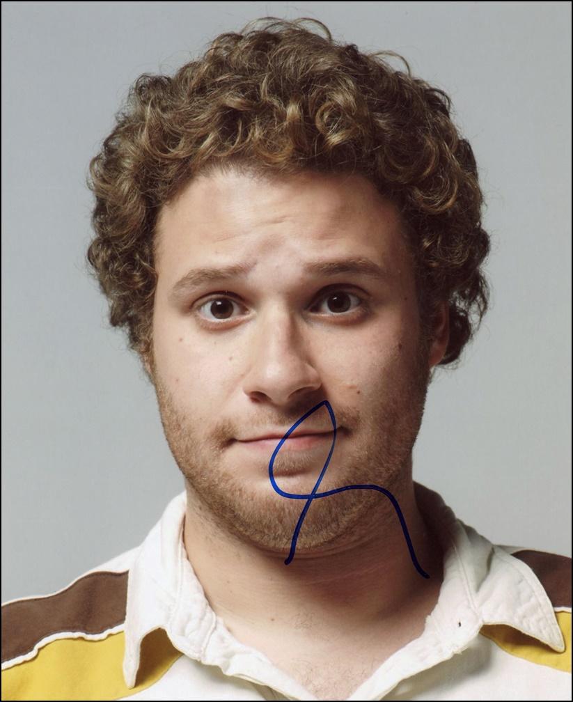 Seth Rogen Signed Photo