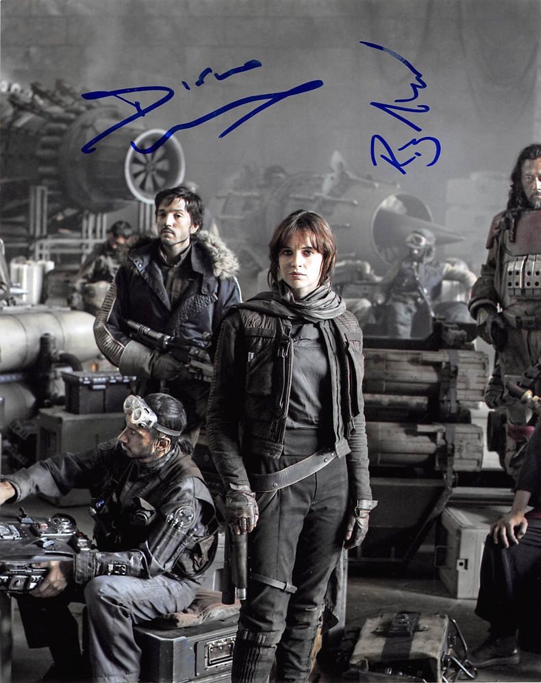 Diego Luna & Riz Ahmed Signed Photo
