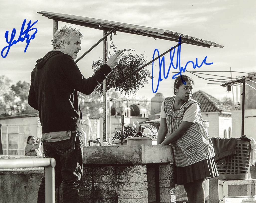 Yalitza Aparicio & Marina de Tavira Signed Photo