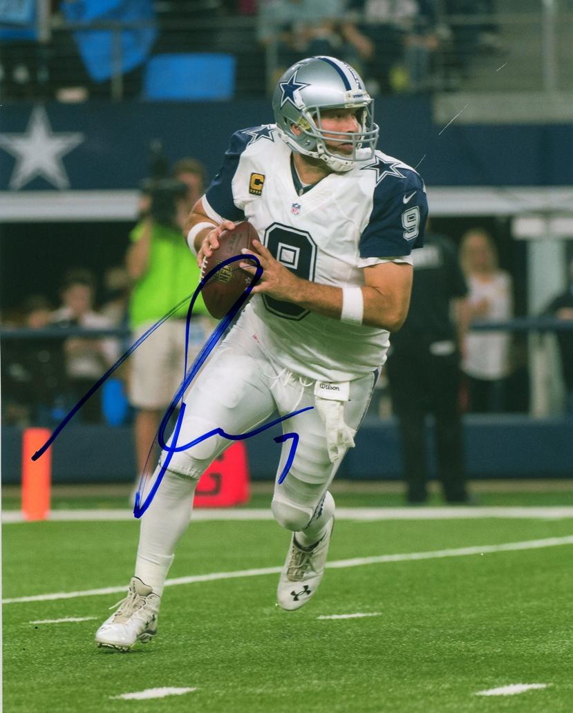 Tony Romo Signed Photo