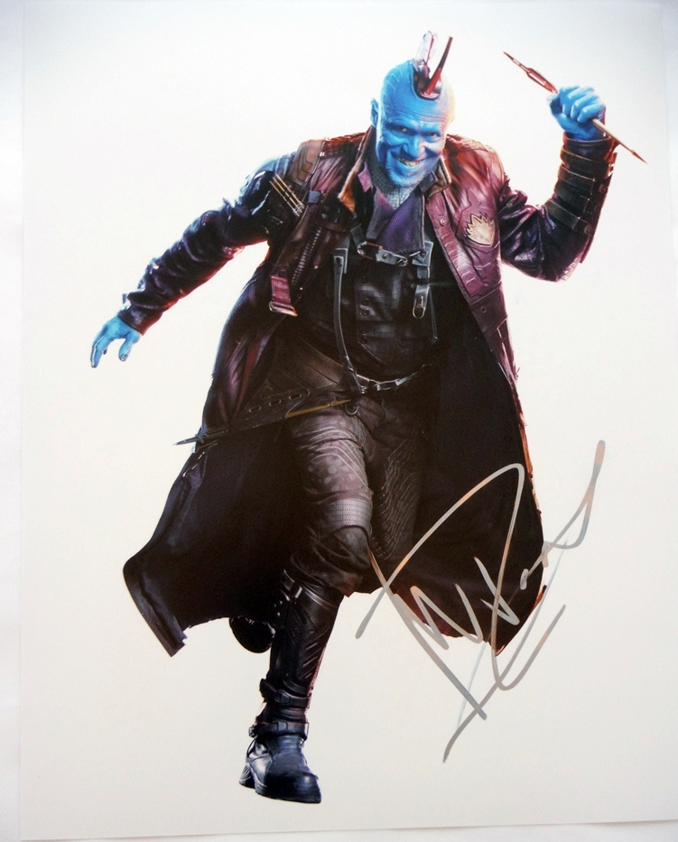 Michael Rooker Signed Photo