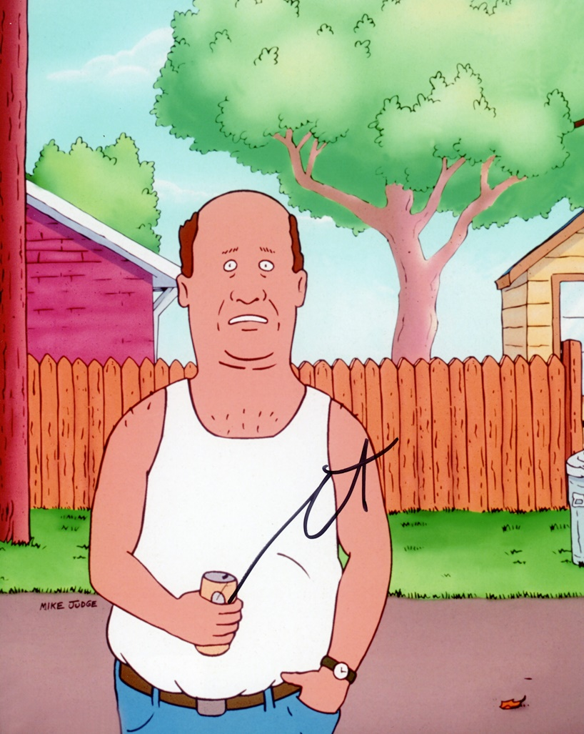 Stephen Root Signed Photo