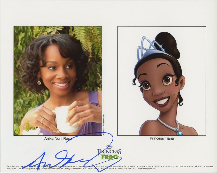 Anika Noni Rose Signed Photo