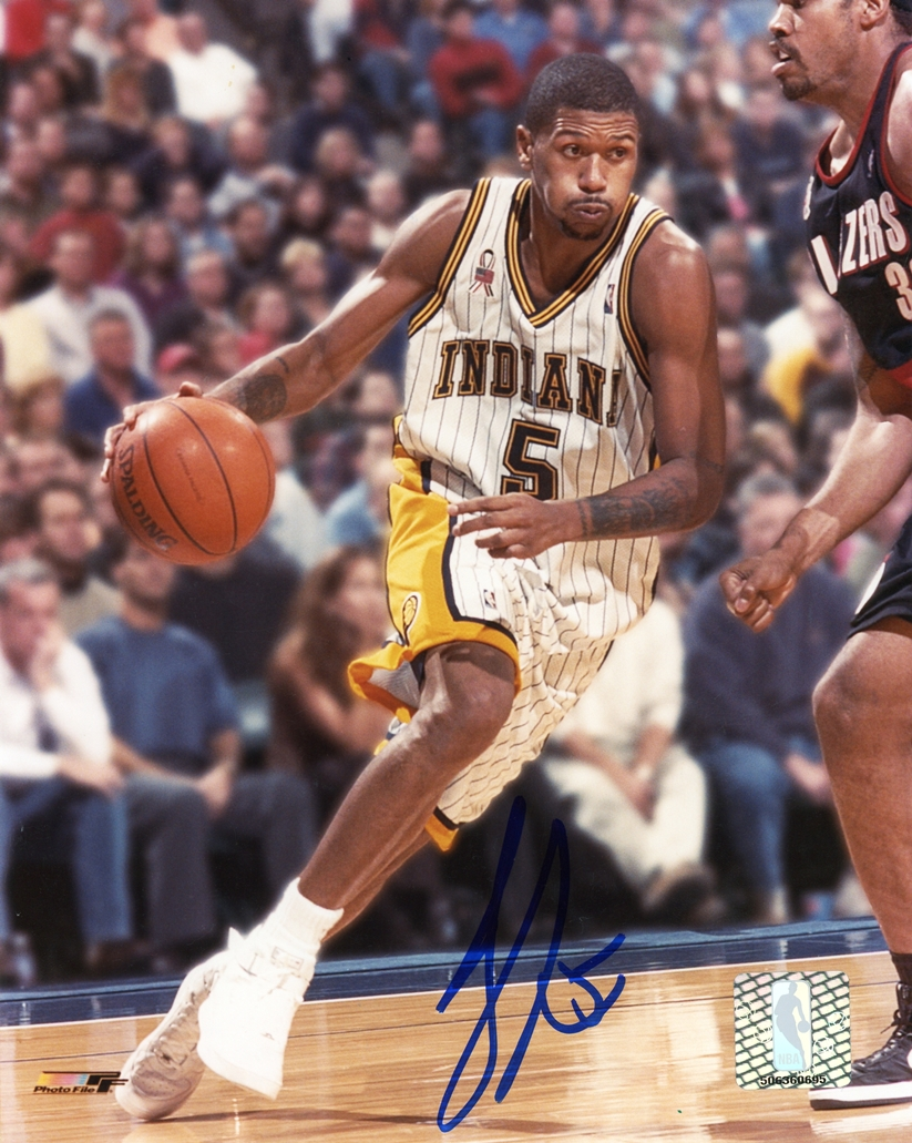 Jalen Rose Signed Photo