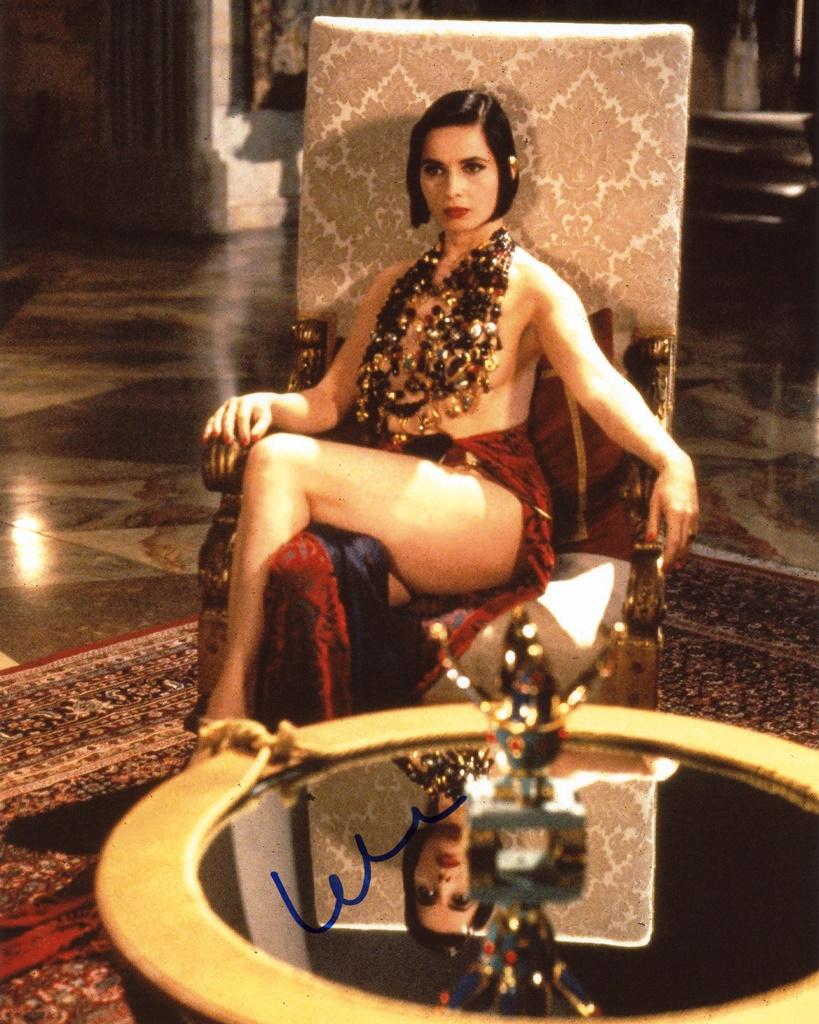 Isabella Rossellini Signed Photo