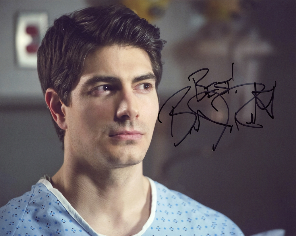 Brandon Routh Signed Photo