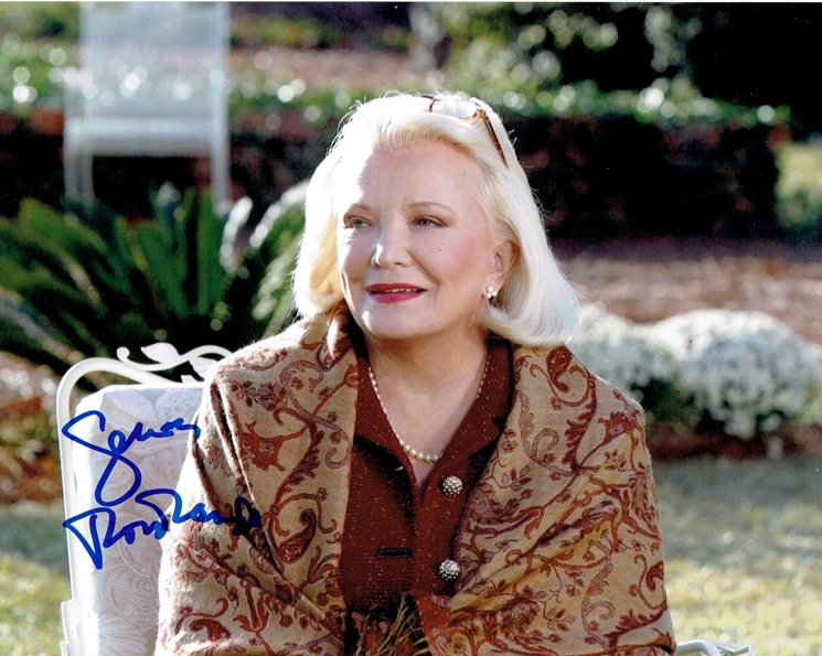 Gena Rowlands Signed Photo