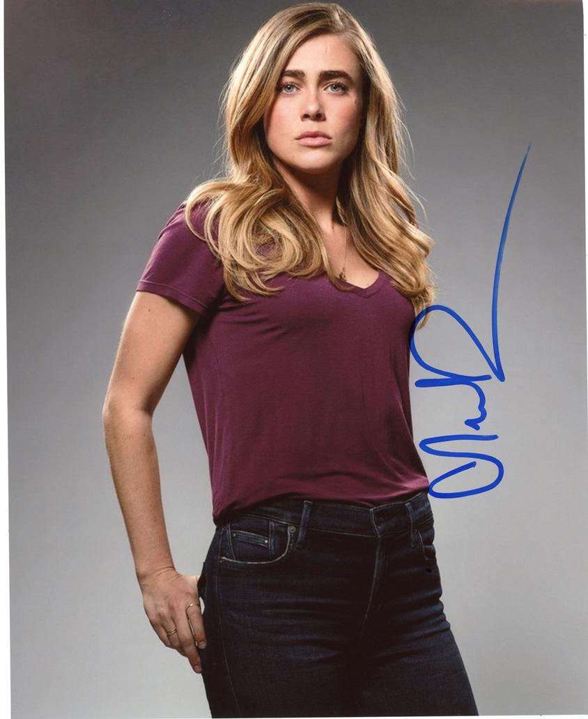 Melissa Roxburgh Signed Photo