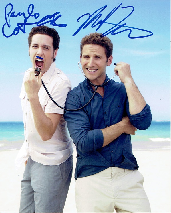 Mark Feuerstein & Paulo Costanzo Signed Photo