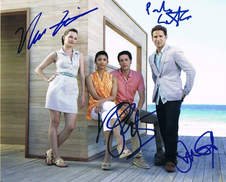 Royal Pains Cast Signed Photo
