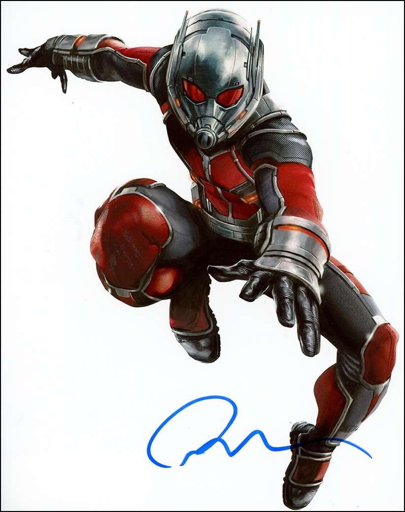 Paul Rudd Signed Photo
