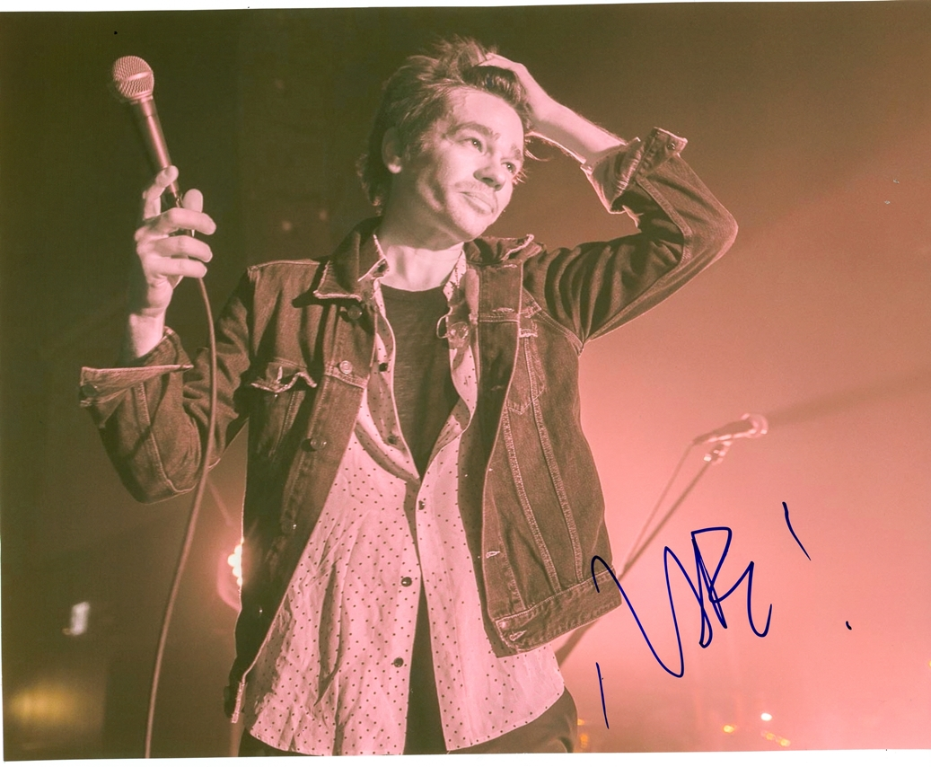 Nate Ruess Signed Photo