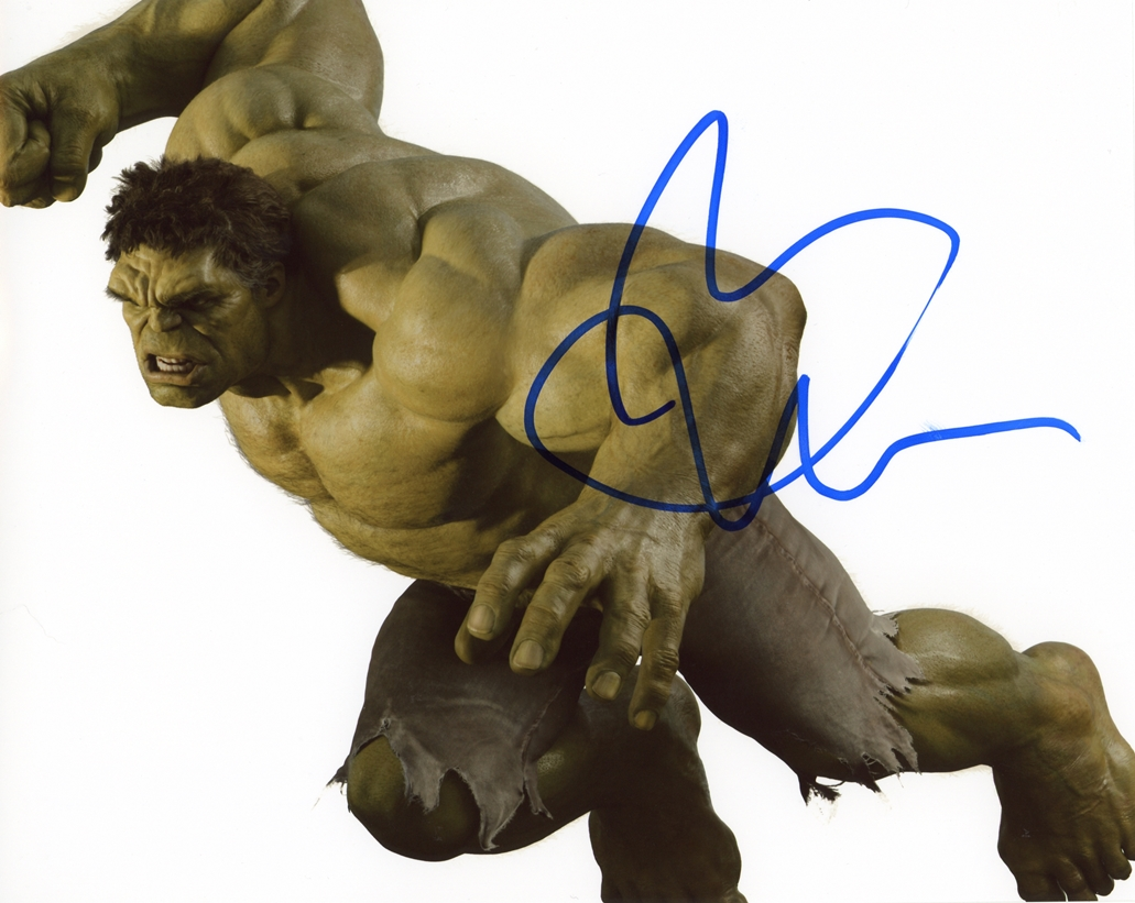 Mark Ruffalo Signed Photo